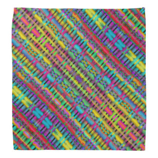 Colorful Geometric Design Bandana