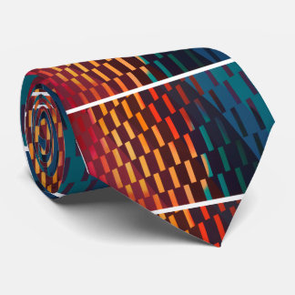 Colorful Geometric Design - Tie