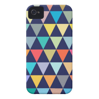 Colorful geometric iPhone 4 cases