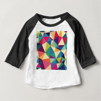 Colorful Geometric Kaleidoscope Baby T-Shirt