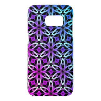 Colorful geometric kaleidoscope samsung galaxy s7 case