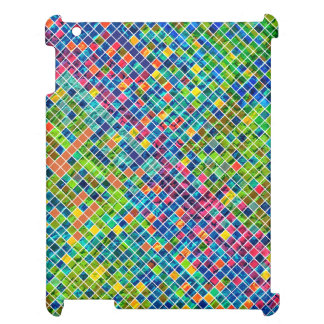 Colorful Geometric Mosaic Pattern iPad Covers