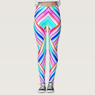 Colorful Geometric Panels Leggings