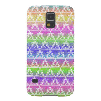 Colorful Geometric Pattern Cases For Galaxy S5