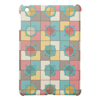 Colorful geometric pattern cover for the iPad mini