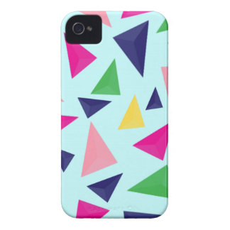 Colorful geometric pattern II iPhone 4 Case