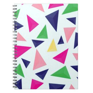 Colorful geometric pattern II Notebook