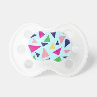 Colorful geometric pattern II Pacifier