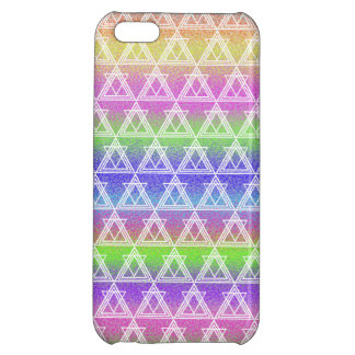 Colorful Geometric Pattern iPhone 5C Cover