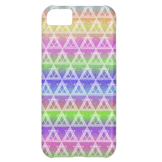 Colorful Geometric Pattern iPhone 5C Covers