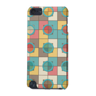Colorful geometric pattern iPod touch 5G covers