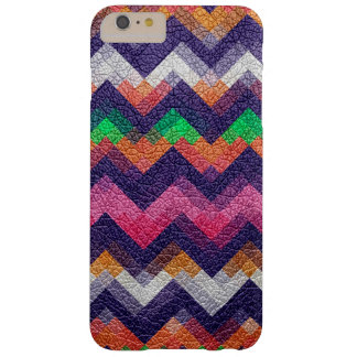 Colorful Geometric Pattern Leather Look #15 Barely There iPhone 6 Plus Case
