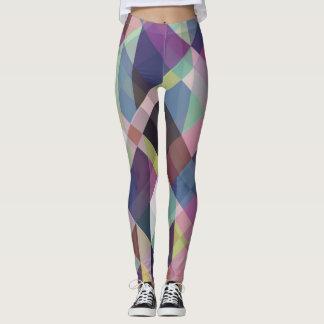 Colorful Geometric Pattern Leggings