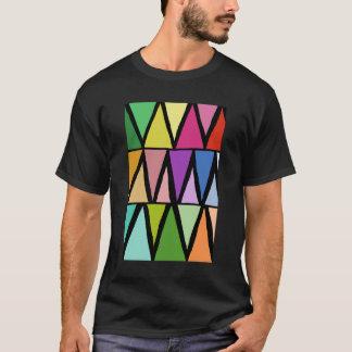 Colorful geometric pattern modern design by Daphne T-Shirt