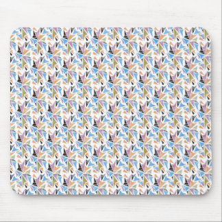 Colorful Geometric Pattern Mouse Pad