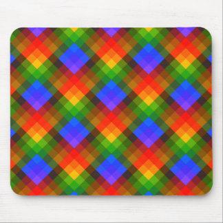 Colorful Geometric Pattern. Mouse Pad