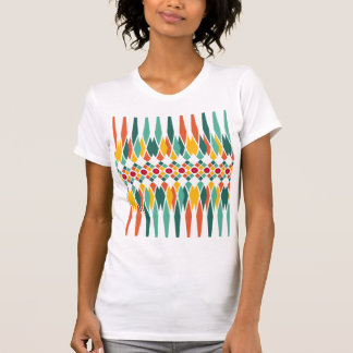 Colorful geometric pattern with abstract polygons T-Shirt