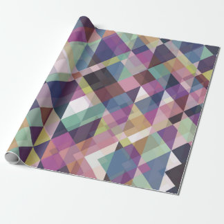 Colorful Geometric Pattern Wrapping Paper