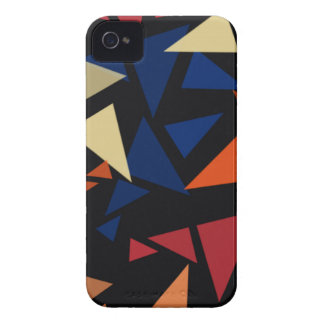 Colorful geometric Shapes iPhone 4 Cover