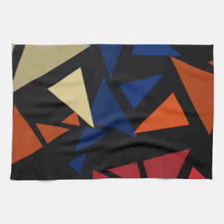 Colorful geometric Shapes Kitchen Towel
