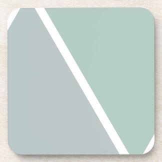 Colorful Geometric Triangles Coasters