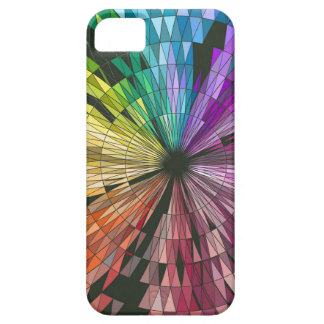 Colorful geometry design iPhone 5 cases