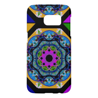 Colorful Geometry Samsung Galaxy S7 Case