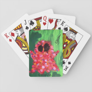 Colorful Ghost Playing Cards