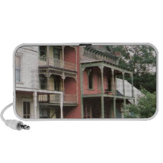 Colorful Ghost Town Buildings PC Speakers