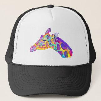 Colorful Giraffe Trucker Hat