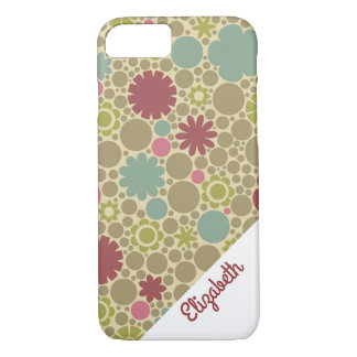 Colorful Girly Gold iPhone 7 case