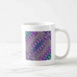 Colorful Glass Beads Abstract Coffee Mug