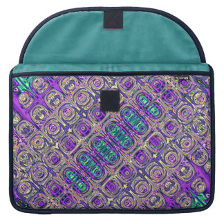 Colorful Glass Beads Abstract Sleeve For MacBooks