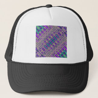Colorful Glass Beads Abstract Trucker Hat