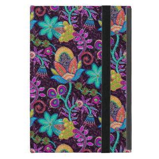 Colorful Glass Beads Look Retro Floral Design 2 iPad Mini Cover