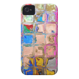 Colorful glass blocks texture iPhone 4 Case-Mate cases