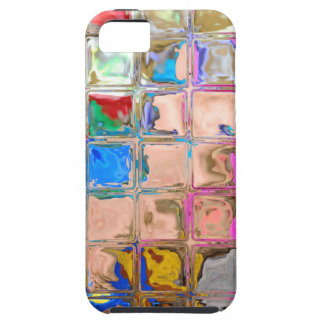 Colorful glass blocks texture iPhone 5 covers
