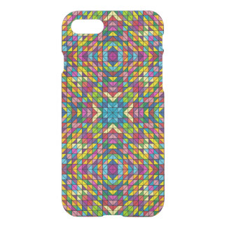 Colorful glass mosaic iPhone 7 case