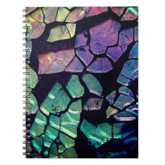Colorful Glass Mosaic Notebooks