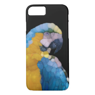 Colorful Glass Parrot iPhone 7 Case