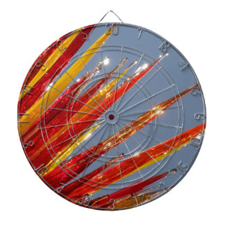 Colorful Glass Work Dartboard