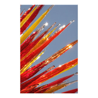 Colorful Glass Work Stationery