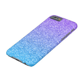 Colorful Glitter And Sparkles Pattern Barely There iPhone 6 Case