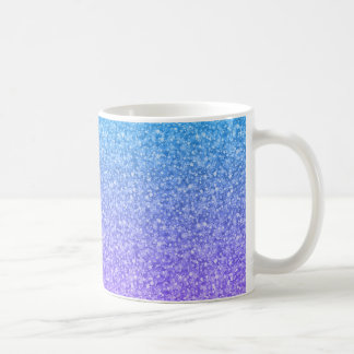 Colorful Glitter And Sparkles Pattern Coffee Mug