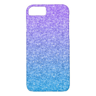 Colorful Glitter And Sparkles Pattern iPhone 7 Case