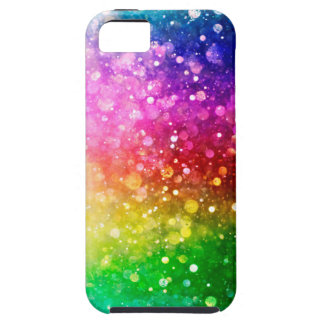 Colorful Glitter Bokeh Style iPhone 5 Case