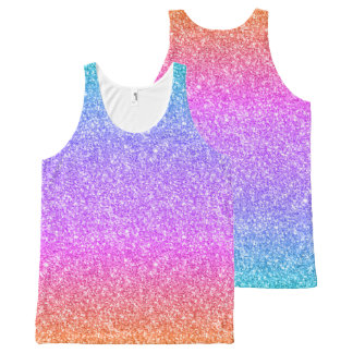 Colorful Glitter Gradient Texture