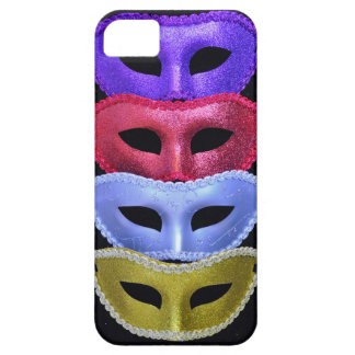 Colorful glitter masks iPhone 5 case