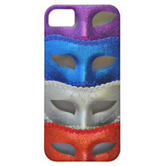 Colorful glitter masks iPhone 5 covers