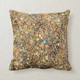Colorful Glitter Pillow